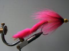 180 Pink Bucktail 10 cm tot 20 cm