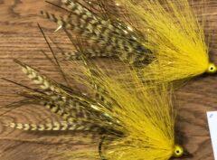 127 Bucktail ( Polder ) van 10 .15,20 cm  dit vangt eigenlijk altijd vis