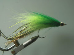 Streamer 119  Bucktail breed gebonden 10,15,20 cm   onze ierland topper