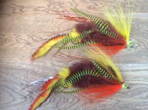533 bucktail  15 cm tot 30 cm  wat een beest Jointed koppel 2 haken  ( meest verkochte)