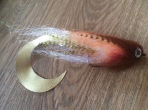 724 Wiggle Tail Pike streamer van 15 cm tot 30 cm
