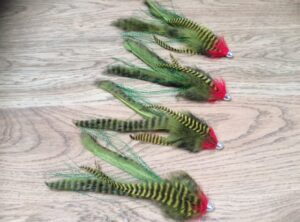 snoek streamers/pike streamers