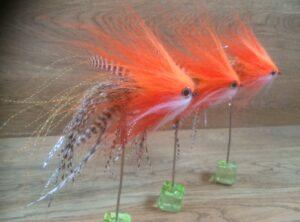 854 Bucktail topper ( o.a polder )  10 cm tot 25 cm