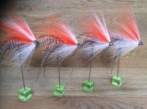 852 Bucktail Topper  ( o.a Polder) 10 cm tot 25 cm