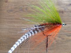 1127 Bucktail Streamer  10 cm 15 cm 20 cm   Polder toppertjes ( best verkochte polder streamer)