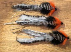 1122 Bunny streamer 10 cm tot 30 cm   topper voor spinhengel  Verzwaard of onverzwaard