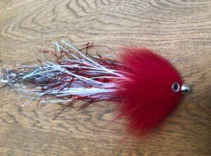 1134 Spintube Flash  15 cm tot  30 cm van 10 gram tot  50 gram Fast en Slow sinking   Red Head