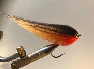1112 Hair Streamer 10 cm tot 30 cm Verzwaard of onverzwaard Vlieghengel of Spinhengel