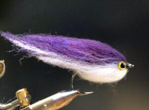 1113 Hair Streamer 10 cm tot 30 cm Verzwaard of Onverzwaard Vlieghengel of spinhengel