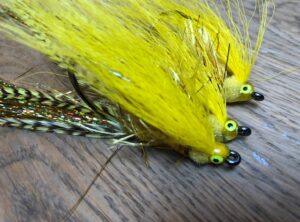 1116 Epoxy Belly streamer Killer voor Baars en snoekbaars 7,10,15,20